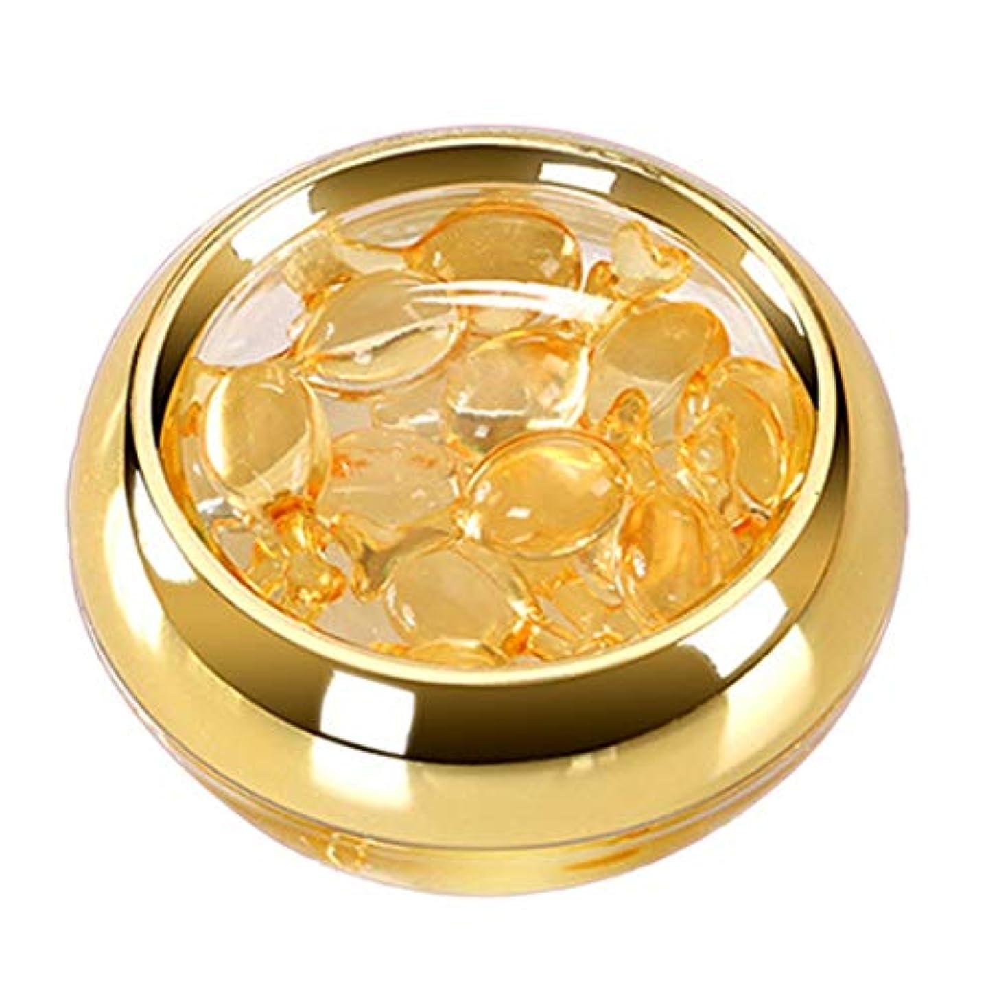 有料韻配るIntercorey Flower Moon Eye Serum Capsule Space Time Capsules Dark Circles Moisturizing Eye Cream to Eye Bags Gold