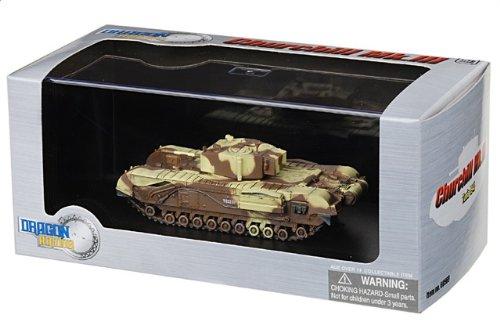 1:72 ドラゴンモデルズ アーマー コレクター シリーズ 60569 ハーランド and ウルフ チャーチル Mk III ディスプレイ モデル ブリティッシュ アーミー #T53251 Tunis