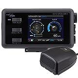 デイトナ コムテック(COMTEC) バイク用 レーダー探知機 レーザー式オービス対応 防水 Bluetooth MOTO GPS RADAR 5(モト ジーピーエス レーダー ファイブ) 21500
