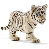 Schleich - Tiger cub, White