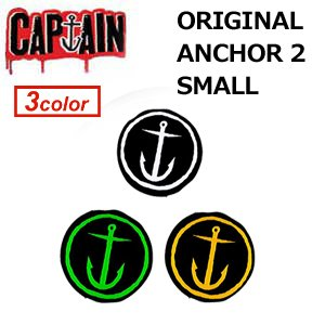 [해외]CAPTAINFIN 캡틴 핀 스티커 ORIGINAL ANCHOR 2 (지름 약 3.5cm) STICKER/CAPTAINFIN captain fin sticker ORIGINAL ANCHOR 2 (about 3.5 cm in diameter) STICKER