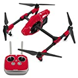 Decalgirl DJI Inspire 1用スキンシール Solid State Red