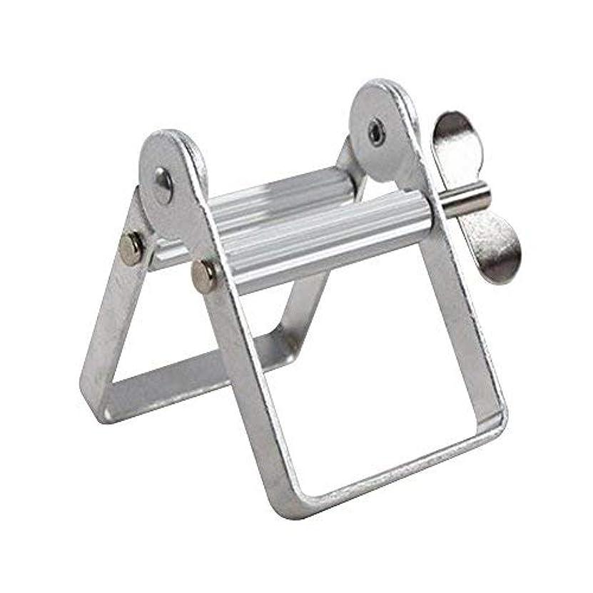 スナッチ唯一桁チューブ絞り器 チューブリンガー 軟膏押出器 アルミ製 歯磨き粉 絵の具 接着剤 洗面道具 便利 人気