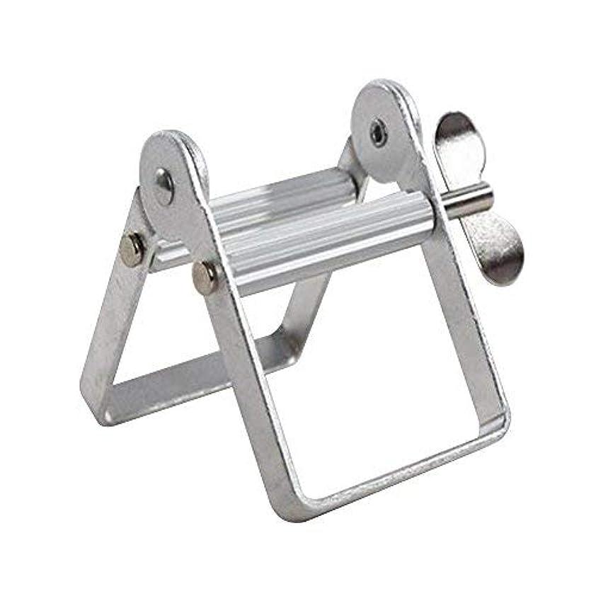 アラスカ紀元前時代チューブ絞り器 チューブリンガー 軟膏押出器 アルミ製 歯磨き粉 絵の具 接着剤 洗面道具 便利 人気
