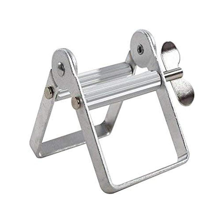 扇動取り除くメロディアスチューブ絞り器 チューブリンガー 軟膏押出器 アルミ製 歯磨き粉 絵の具 接着剤 洗面道具 便利 人気