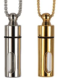 shiningloveユニセックスCreative Unique香水ボトル形状ペンダントファッションもマッチペンダント装飾without Chain