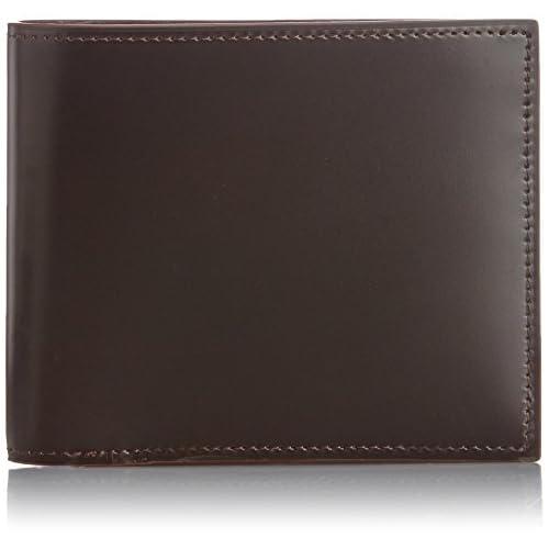 [ゾンネ] SONNE 財布 二つ折り財布 小銭入れ付き SOC002RE CHO (CHOCO)