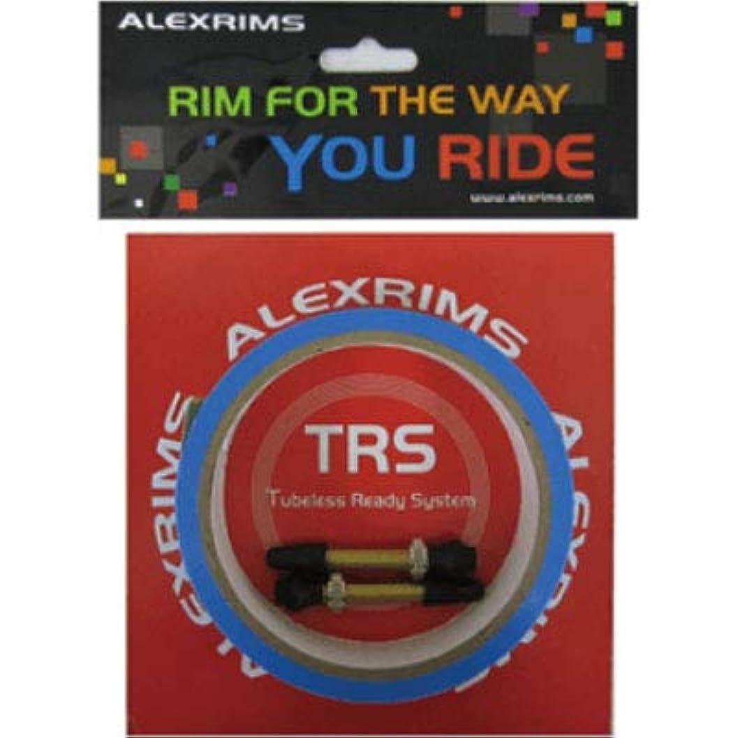 モナリザ風景電話アレックスリム(ALEXRIMS) 自転車ホイールパーツ チューブレスレディキット テープ幅30mm リムテープ2本 バルブ2個 862120