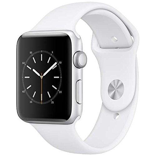 Apple Watch Series 2 42mm シルバーアルミニウムケースとホワイトスポーツバンド MNT22J/A