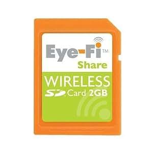 アイファイジャパン Eye-Fi Share 2GB ワイヤレスメモリーカード EYE-FI-2GB-J
