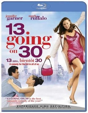 13 Going on 30 ( Thirteen Going on Thirty ) [ Blu-Ray, Reg.A/B/C Import - Netherlands ]