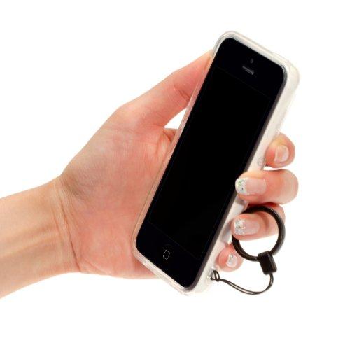 Highend berry 【 iPhone 5C 】 ストラップ ホール 付き ソフトTPU ケース