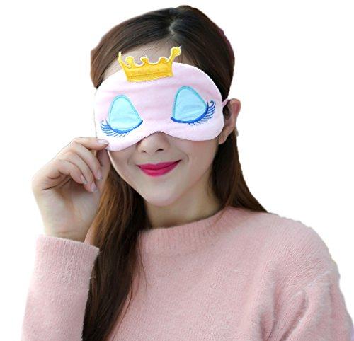 (スマイル ワキキ)Smile YKK アニマル アイマスク 大人用 キャラクター 目隠し 安眠マスク 可愛い 眠り姫A