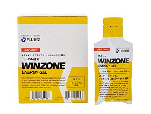 WINZONE エナジージェル パイナップル風味 12個セッ...