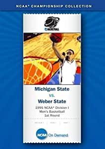 1995 NCAA(r) Division I Men's Basketball 1st Round - Michigan State vs. Weber State