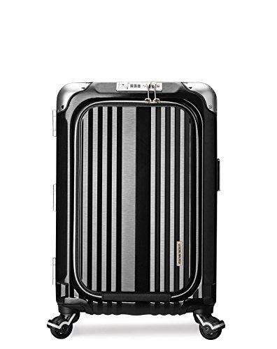 [レジェンドウォーカー] legend walker スーツケース 機内持ち込み対応 ビジネスキャリー グランシリーズ 6603-50 BK (ブラック)