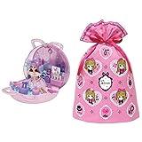 リカちゃん ゆめいろ ヘアメイクバッグ + インディゴ タカラトミー リカちゃん ラッピング袋 ギフトバッグ3L ピンク TA094