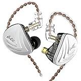 KZ AS16 16 Units Earbuds Balanced Armature Headphones HiFi Metal Noise Reduction Extra Bass Sports in Ear Earphone 0.75mm 2 P
