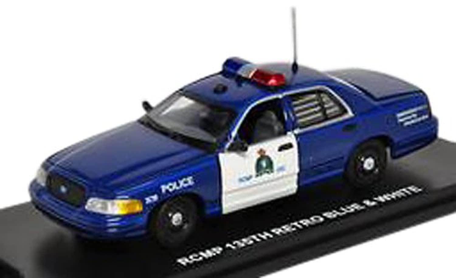 FIRST RESPONSE 1/43 Ford Crown Victoria RCMP (Retro Blue/White) 完成品