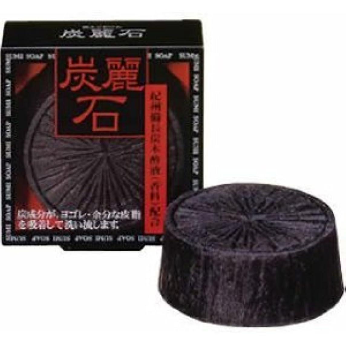 炭麗石石鹸×2