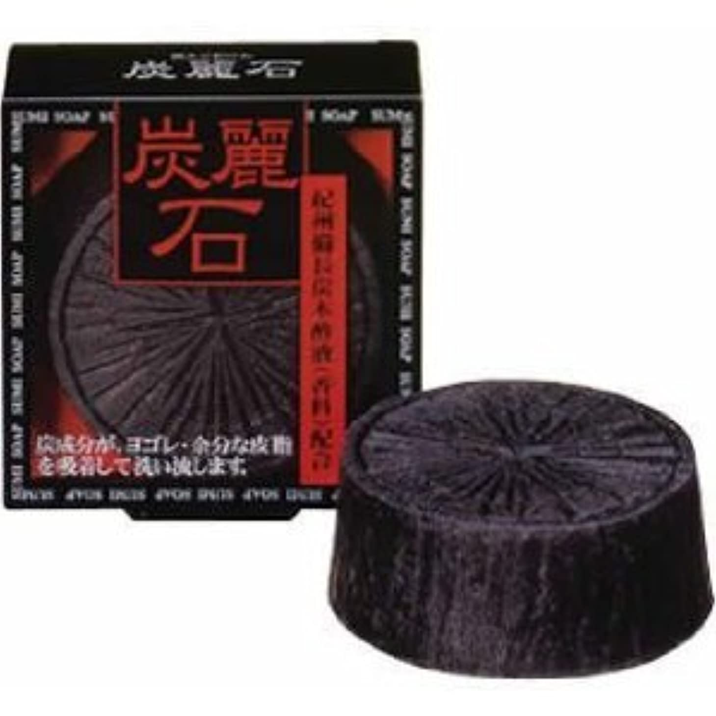 微視的情熱的個人炭麗石石鹸×2