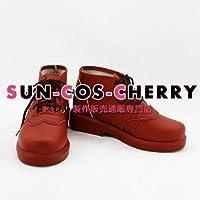 【サイズ選択可】コスプレ靴 ブーツ K-790 境界の彼方 栗山 未来 くりやま みらい 女性24.5CM
