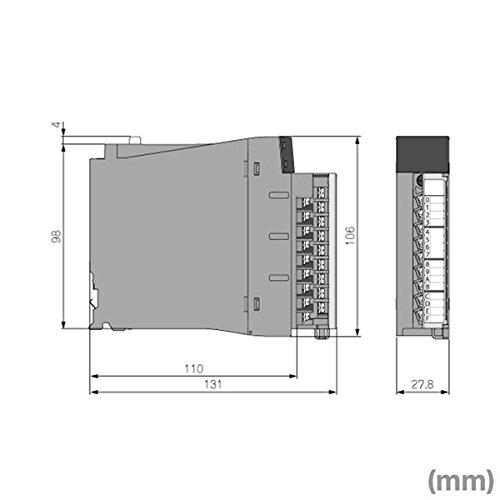 三菱電機 RY40NT5P MELSEC iQ-Rシリーズ トランジスタ出力ユニット (シンクタイプ) (出力点数: 16点) (定格負荷電圧: DC12/24V) NN
