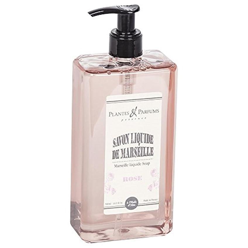 シュリンク混合した新しい意味Plantes&Parfums [プランツ&パルファム] マルセイユリキッドソープ ローズ
