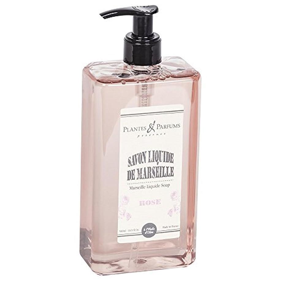 効率うっかりアウターPlantes&Parfums [プランツ&パルファム] マルセイユリキッドソープ ローズ