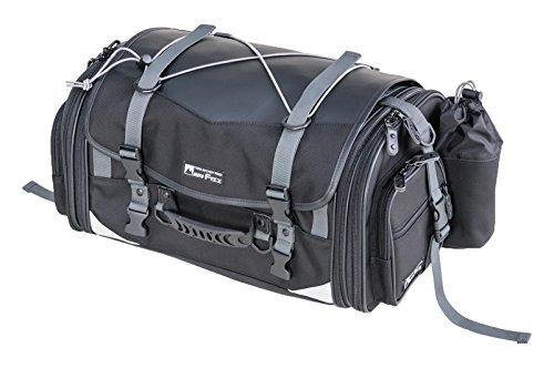 タナックス MOTOFIZZ ミドルフィールド シートバッグ (可変容量29-40?) ブラック MFK-233