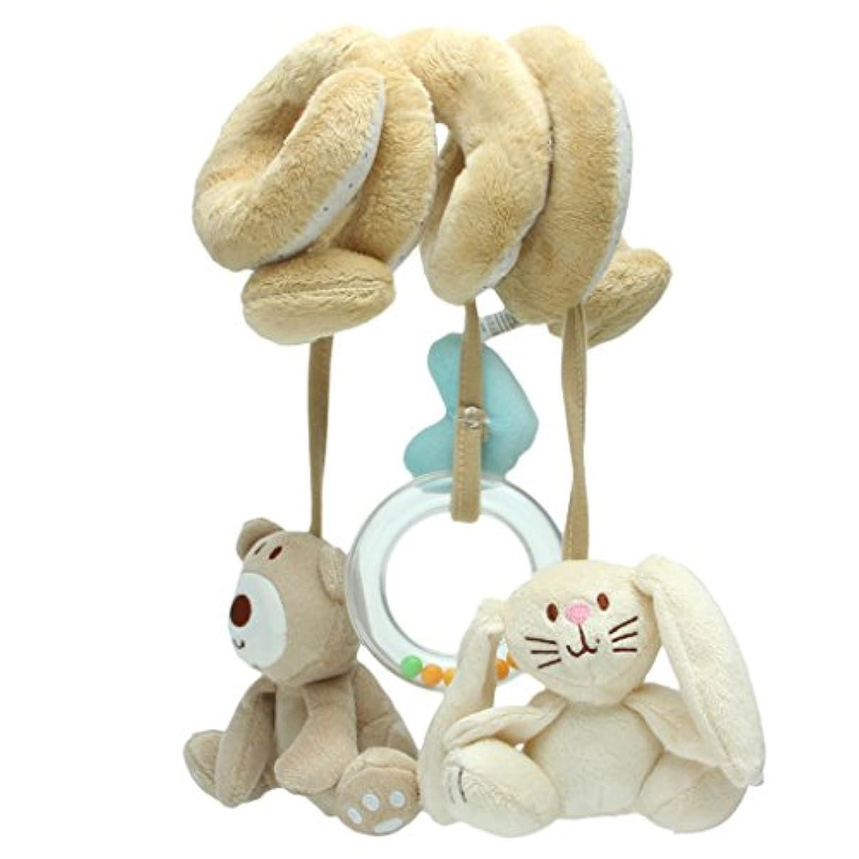 進む九拘束するChone Baby Rattle Toy with Sound – ベビーカーカーシートハンギングベル旅行 – アクティビティスパイラルレイズHanging Rattles Toy – Kids Play Toy S D16727