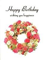 バースデーカード フラワー12誕生日カード