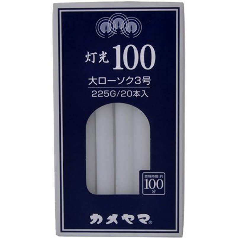 銀スタックスポーツマン灯光100大3号225G