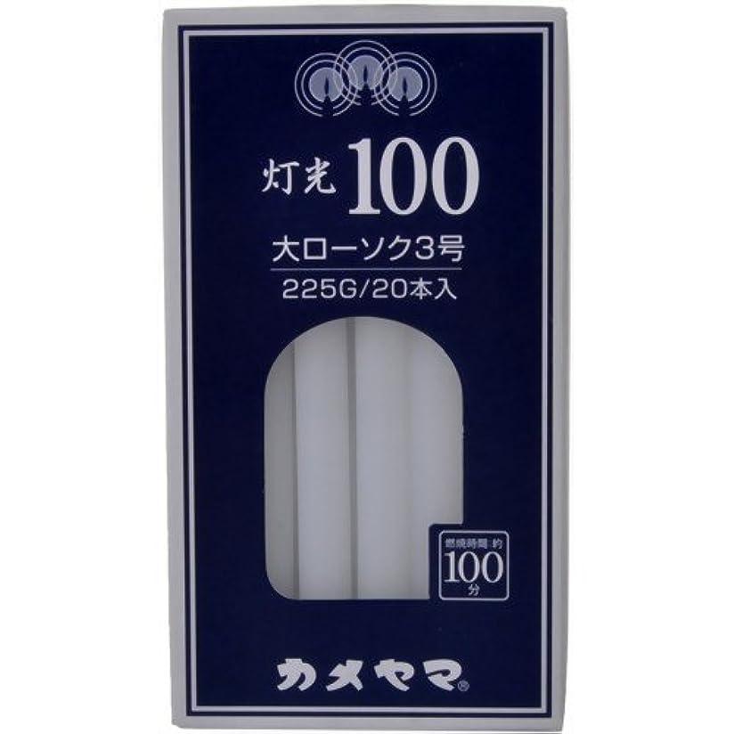 プレゼン貧しい彫る灯光100大3号225G