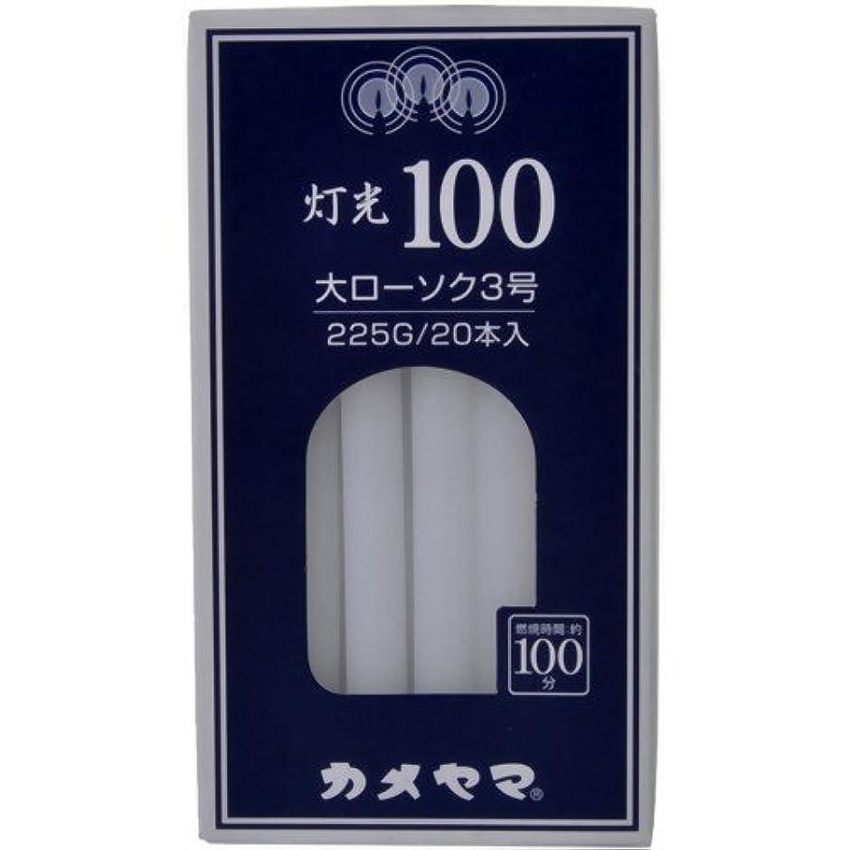 灯光100大3号225G