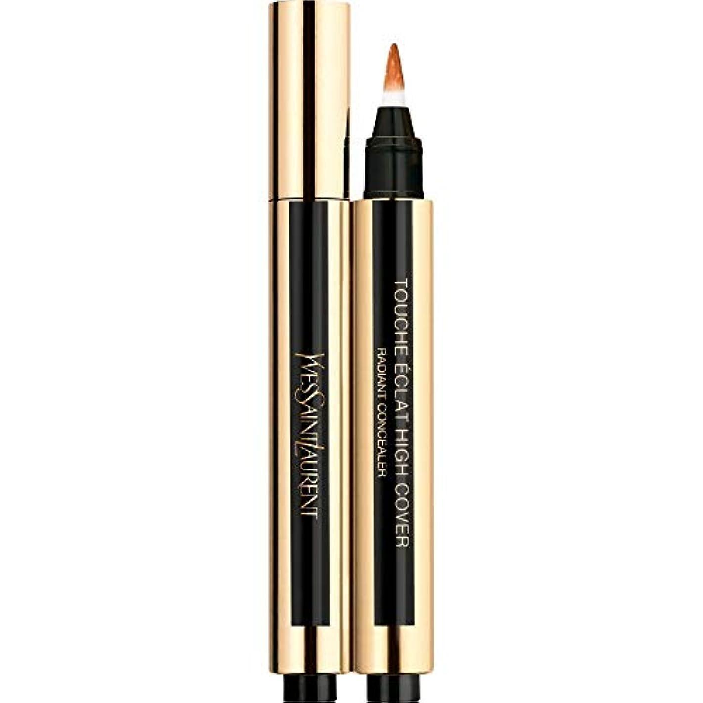 麦芽テセウス舌[Yves Saint Laurent] 6.5 2.5ミリリットルイヴ?サンローランのトウシュエクラ高いカバー放射コンシーラーペン - ヘーゼルナッツ - Yves Saint Laurent Touche Eclat High Cover Radiant Concealer Pen 2.5ml 6.5 - Hazelnut [並行輸入品]