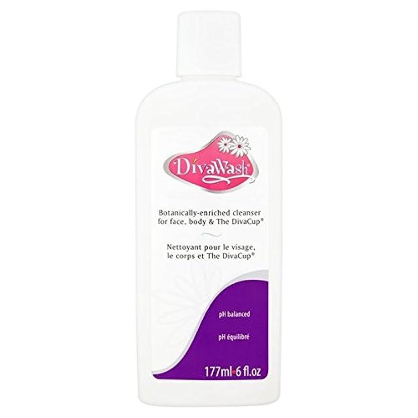 教本気不運歌姫国際株式会社、歌姫ウォッシュ177ミリリットル x4 - Diva International Inc, The Diva Wash 177ml (Pack of 4) [並行輸入品]