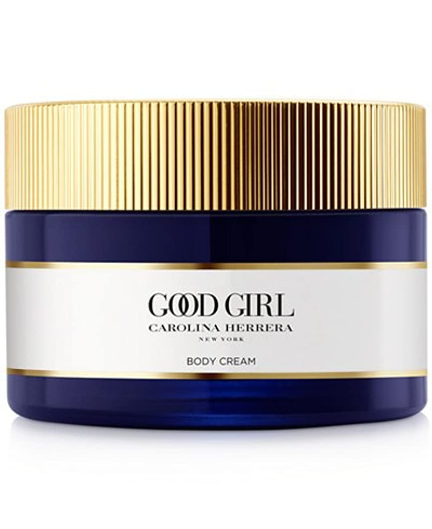練るペレット数学Good Girl (グッド ガール) 6.8 oz (200ml) Body Cream by Carolina Herrera for Women