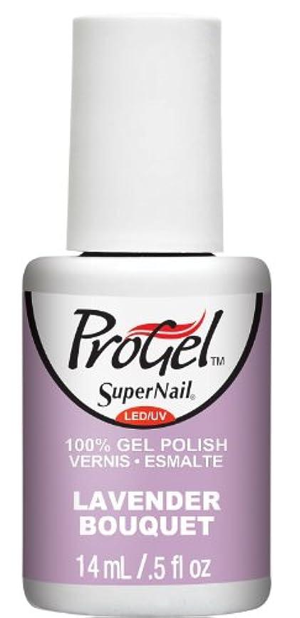 チャンバーヘリコプター心理的SuperNail ProGel Gel Polish - Lavender Bouquet - 0.5oz / 14ml