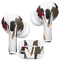igsticker AirPods Pro 専用 デザインスキンシール airpodspro エアポッド プロ apple アップル イヤホン カバー デコレーション アクセサリー デコシール 003426 ユニーク その他 人物 イラスト カップル