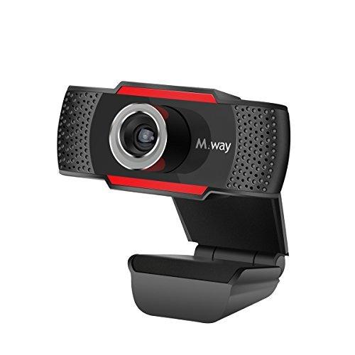 M.Way ウェブカメラ HD720P 高画質 100万画素 web カメラ マイク内蔵 デスクトップSkype ノイズリダクション