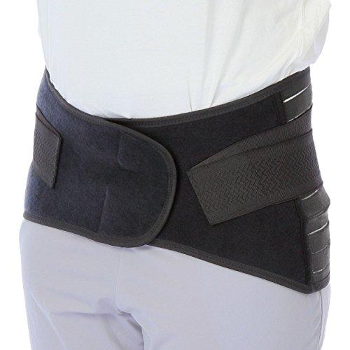 骨盤矯正ベルト 腰痛改善  腰椎 骨盤サポート コルセット 腰痛サポート 3Dベルト コルセット (Mサイズ(ウエスト約65~80cm)