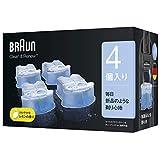 ブラウン アルコール洗浄液 (4個入) メンズシェーバー用 CCR4 CR【正規品】