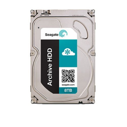 Seagate Archive HDDシリーズ ( 3.5inch / SATA 6Gb/s / 8TB / 5900rpm / 128MB / 4Kセクター ) ST8000AS0002