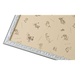 パズルフレーム ディズニー専用 アートフィギュアパネル 2000ピース用 パールホワイト(73x102 cm)