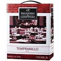 ブラッスリー・エ・コントワール テンプラニーリョ バッグインボックス 3000ml [スペイン/赤ワイン/辛口/ミディアムボディ/1本]