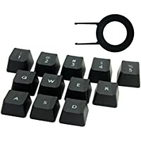 HUYUN Performance gaming key caps for Logitech G810 G413 G310 K840 G613 Romer-G Mechanical Keyboard [並行輸入品]