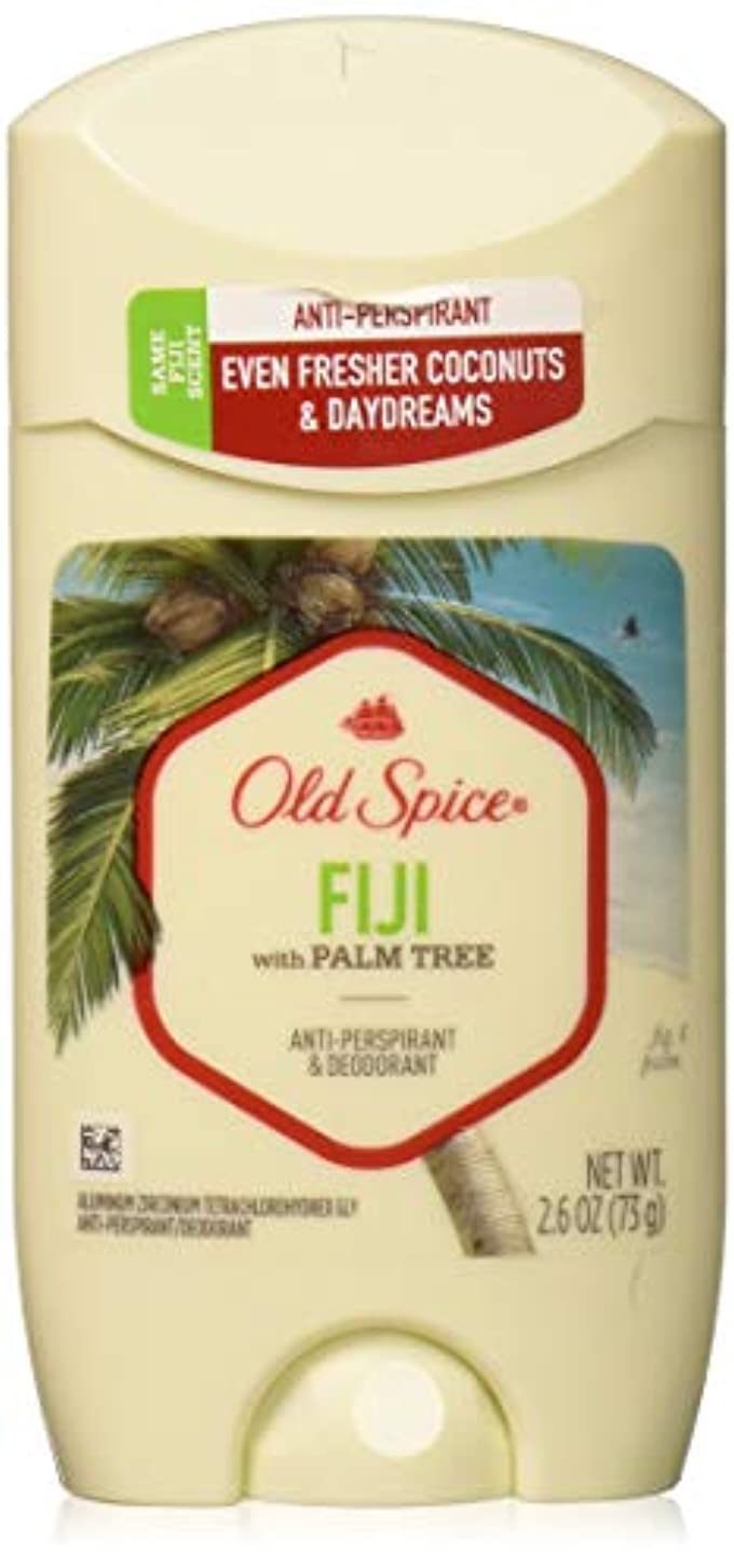ゲートファイル交渉するOld Spice Anti-Perspirant 2.6oz Fiji Solid by Old Spice