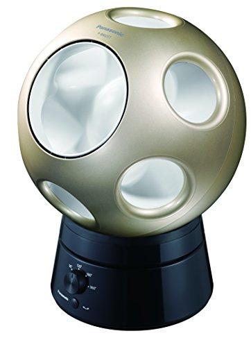 パナソニック サーキュレーター/扇風機 創風機Q 首振りスタンドセット シャンパンゴールド F-BM25T-N