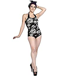 Banned Apparel - Skull Roses Swimsuit
